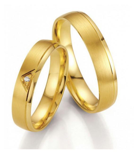 Alianza de Diseño en Oro Amarillo