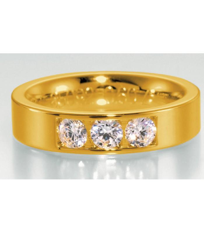 Alianza con Tres Diamantes 0.60 Cts