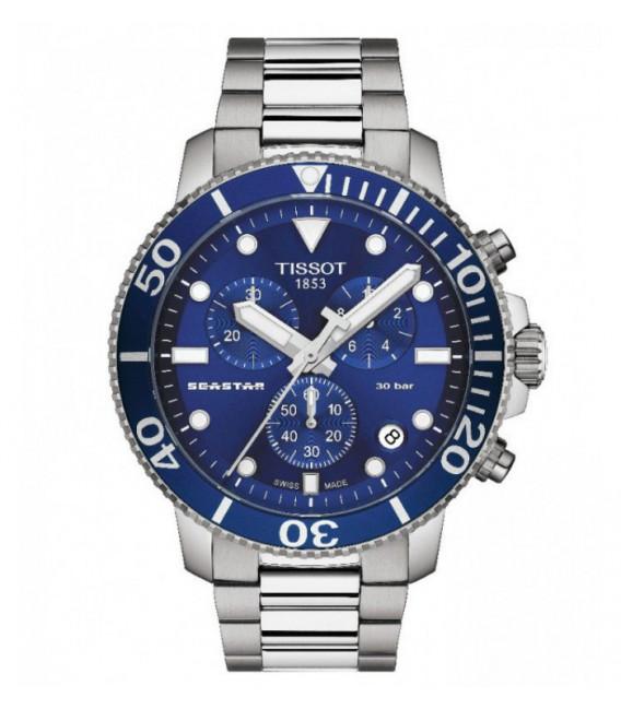 Reloj Para Hombre Tissot Seastar 1000 Cuarzo Cronógrafo
