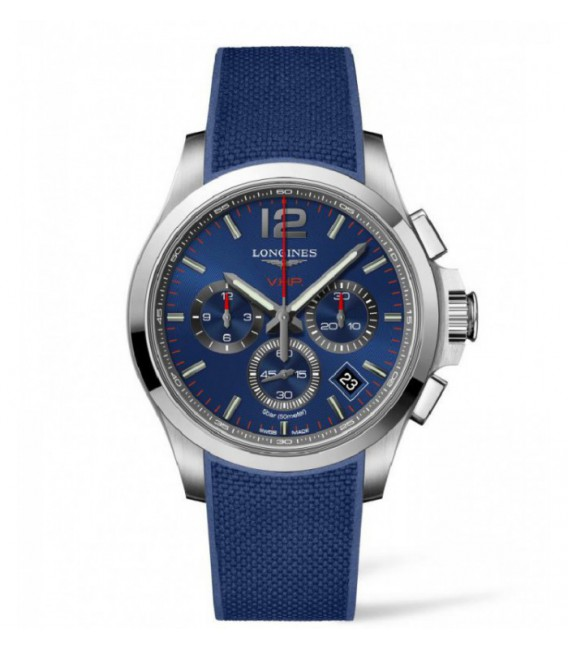 Reloj para hombre Longines Conquest V.H.P. Cronógrafo. Calendario Perpetuo.
