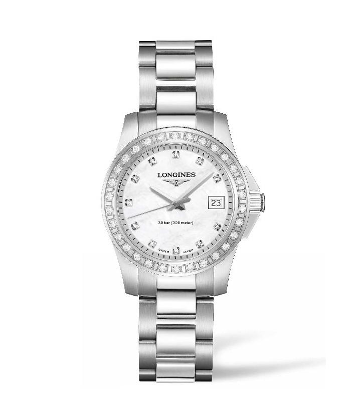 Reloj para mujer Longines Conquest  Diamantes.