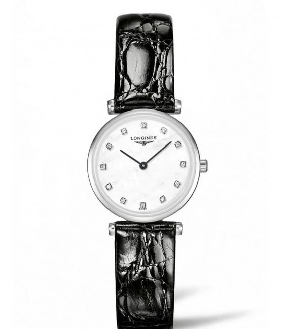 Reloj para mujer Longines La Grande Classique Acero y Diamantes