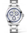 Reloj Para Hombre Longines Conquest Cronografo Centesimal ST.Moritz