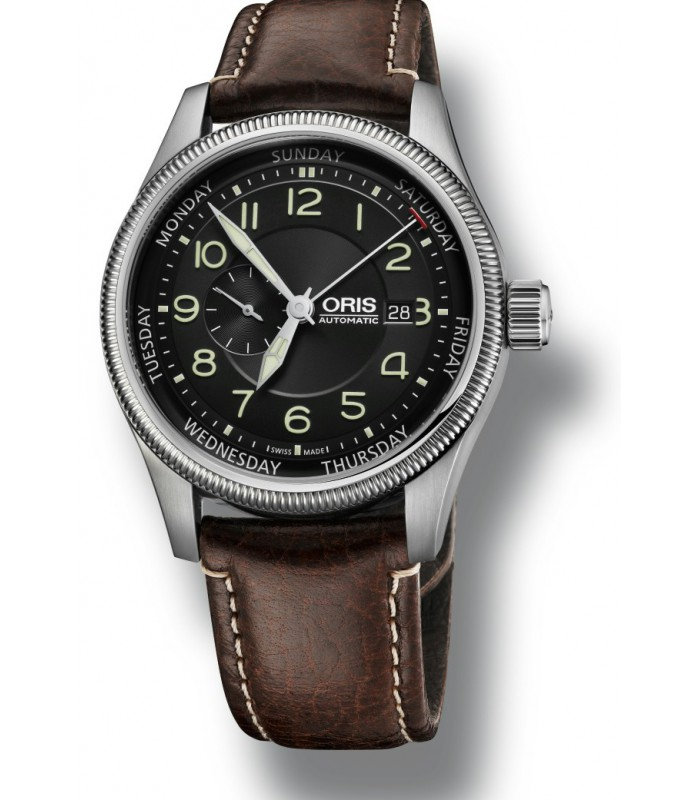 Reloj Para Hombre Oris Big Crown Small Second Pointer Day