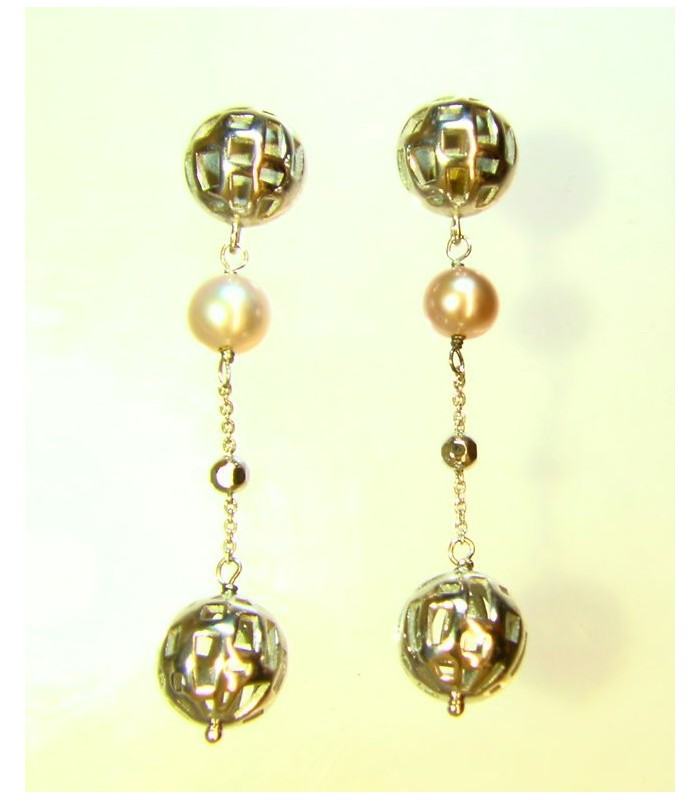 Pendientes Plata The Fifth Season Perla.